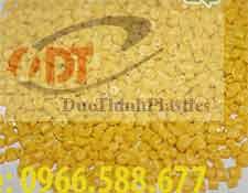 Bán hạt nhựa tái sinh PP, nhựa PP màu vàng
